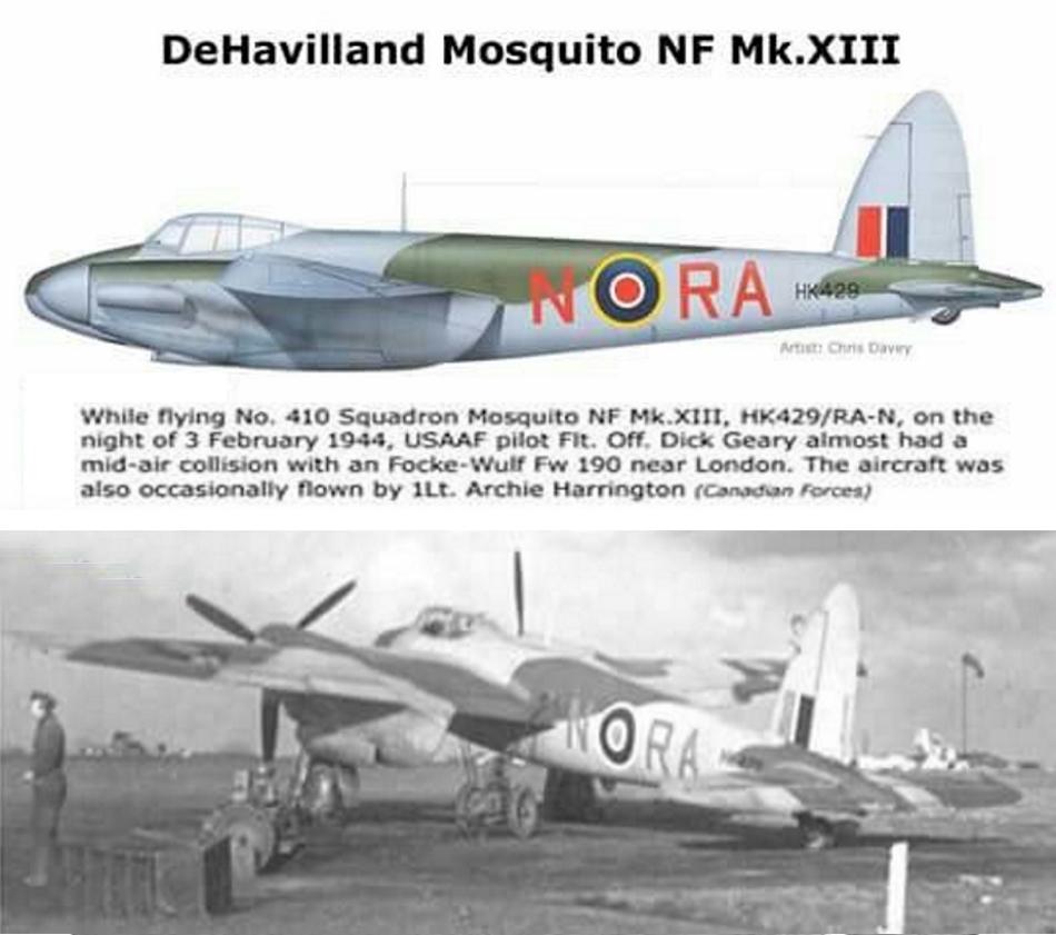 DE HAVILAND MOSQUITO DH 98 Mosqui25