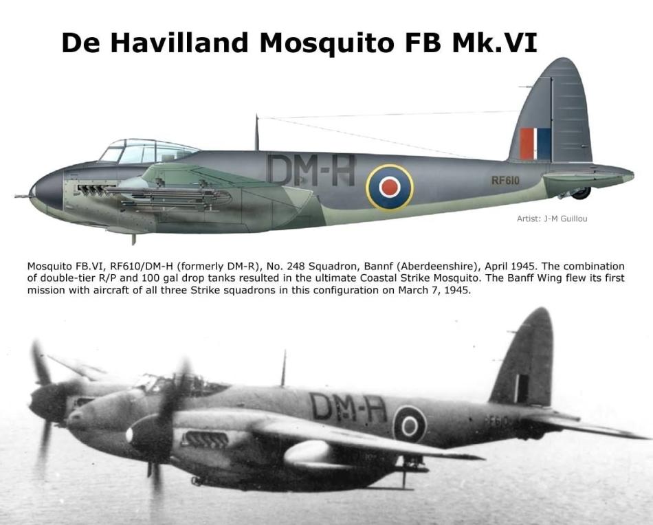 DE HAVILAND MOSQUITO DH 98 Mosqui26