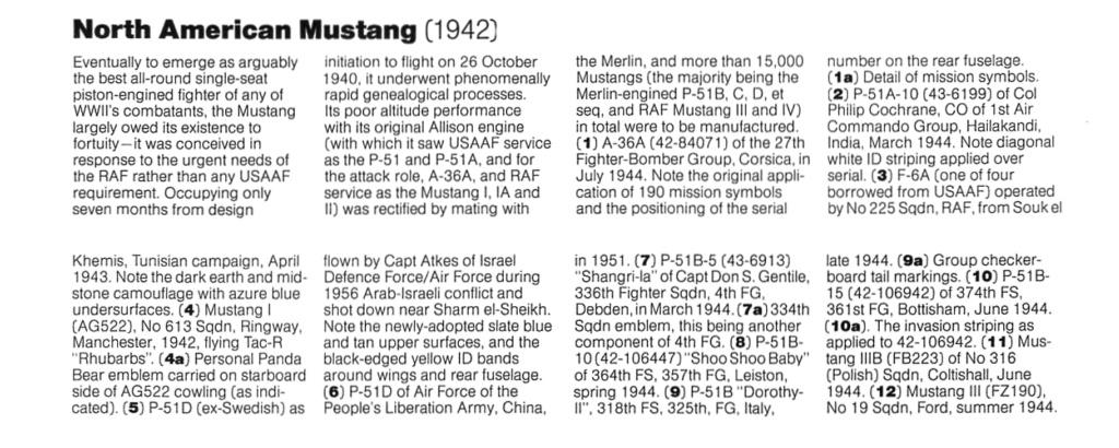 NORTH AMERICAN P-51 MUSTANG P-51-010