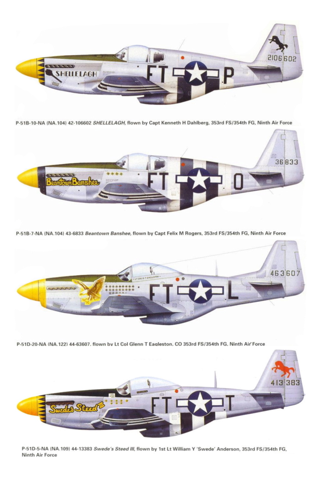 NORTH AMERICAN P-51 MUSTANG P-51-f11