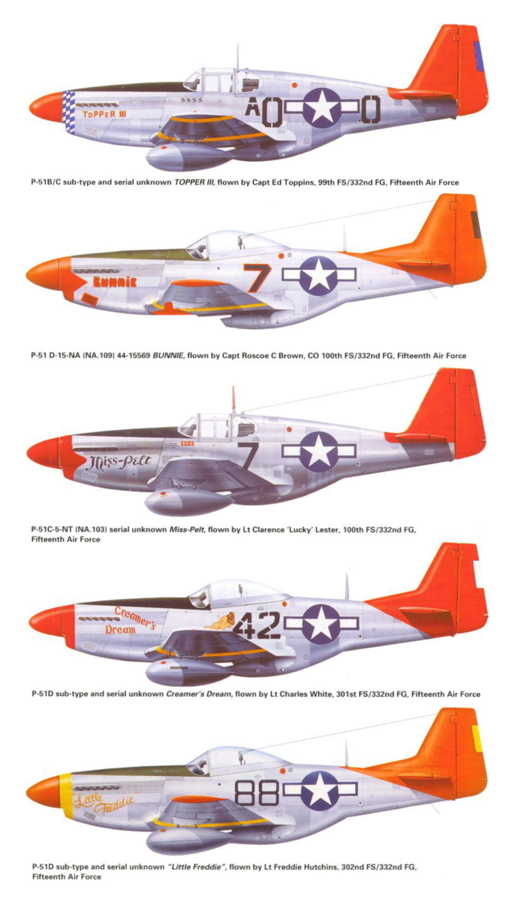 NORTH AMERICAN P-51 MUSTANG P-51-r11