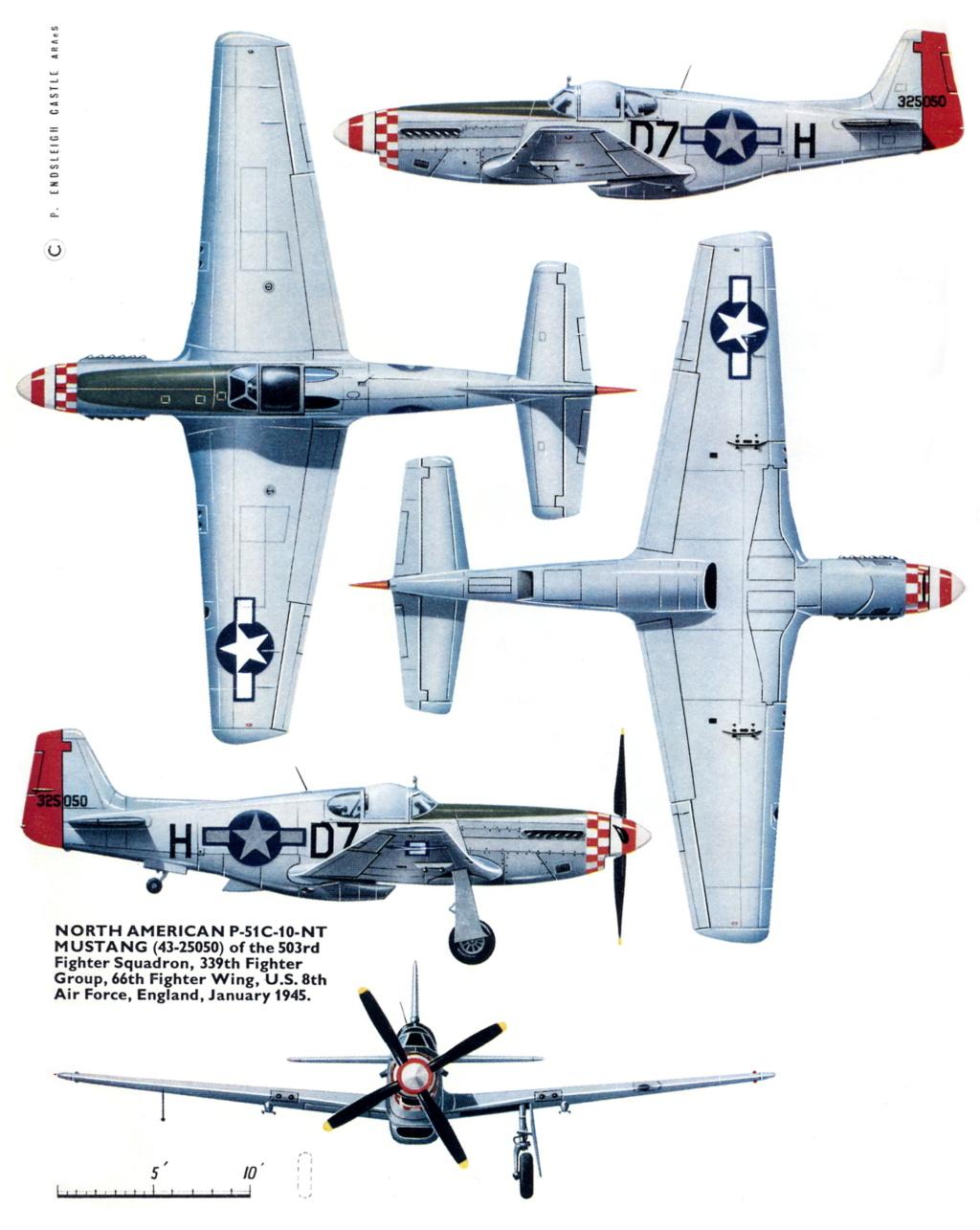 NORTH AMERICAN P-51 MUSTANG P-51b-10