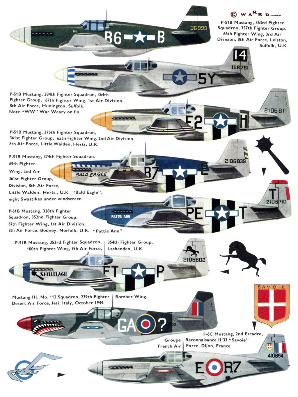 NORTH AMERICAN P-51 MUSTANG P-51b-11