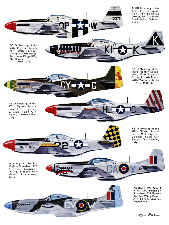 NORTH AMERICAN P-51 MUSTANG P-51d-11