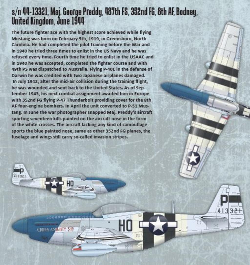 NORTH AMERICAN P-51 MUSTANG P51-1-11