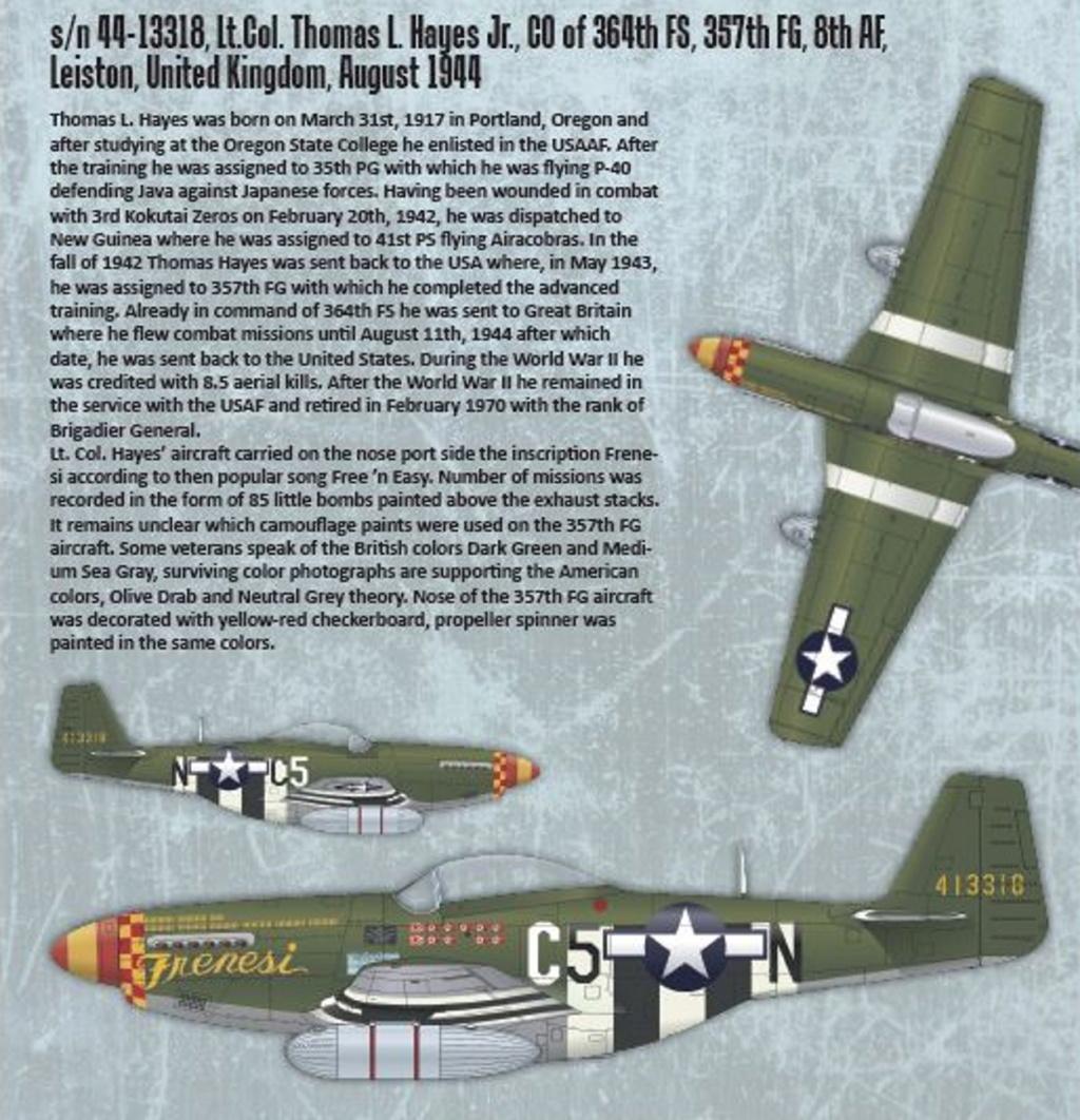 NORTH AMERICAN P-51 MUSTANG P51-1-12