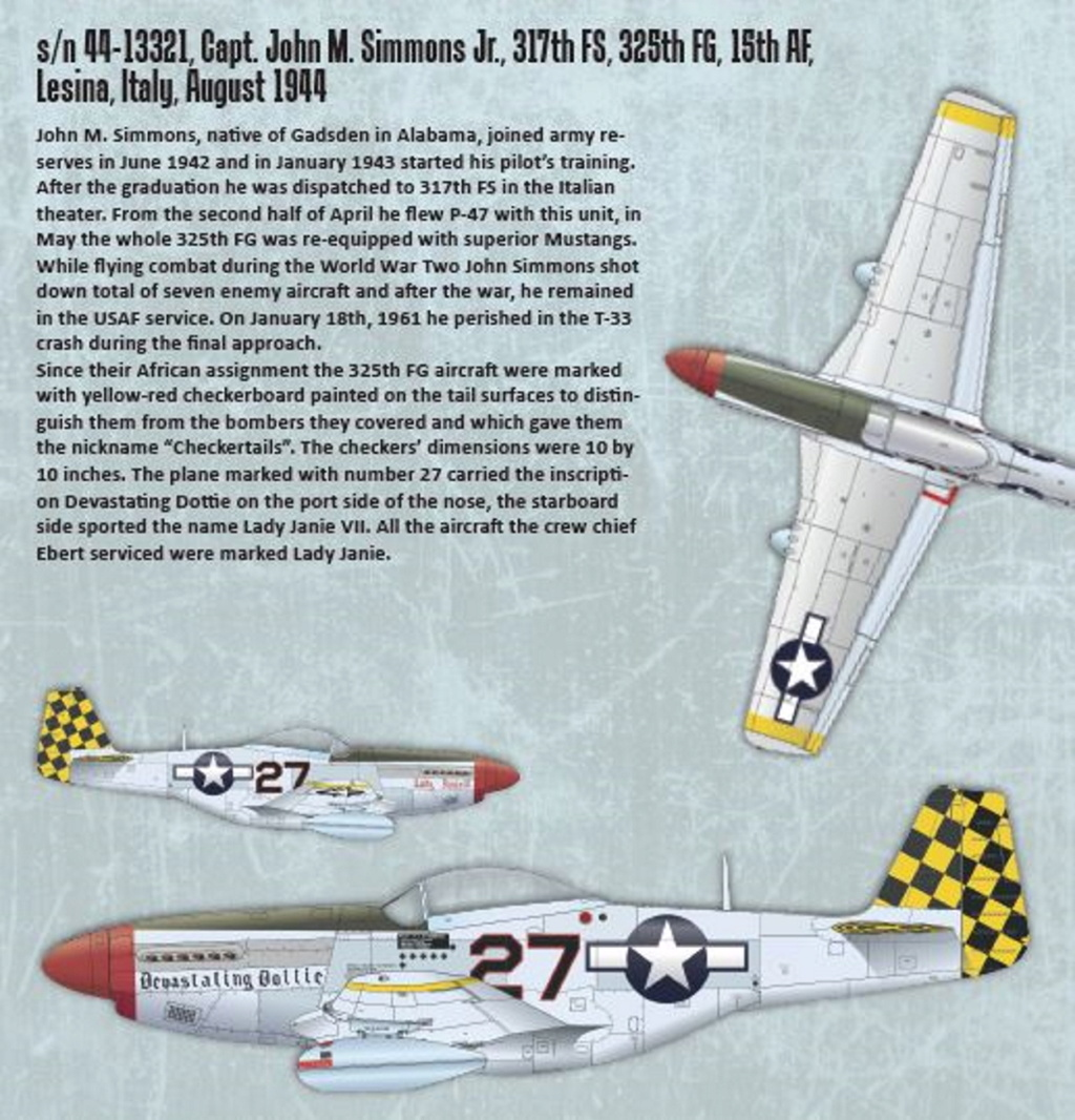 NORTH AMERICAN P-51 MUSTANG P51-1-14