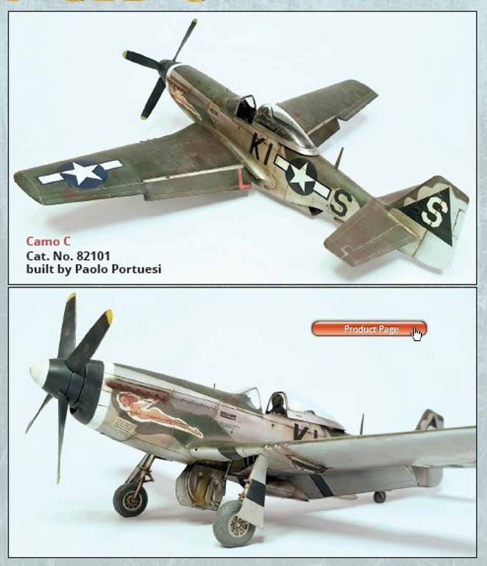 NORTH AMERICAN P-51 MUSTANG P51-1-16