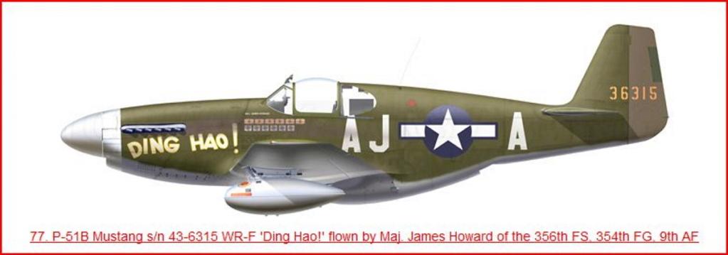 NORTH AMERICAN P-51 MUSTANG P51-1t10