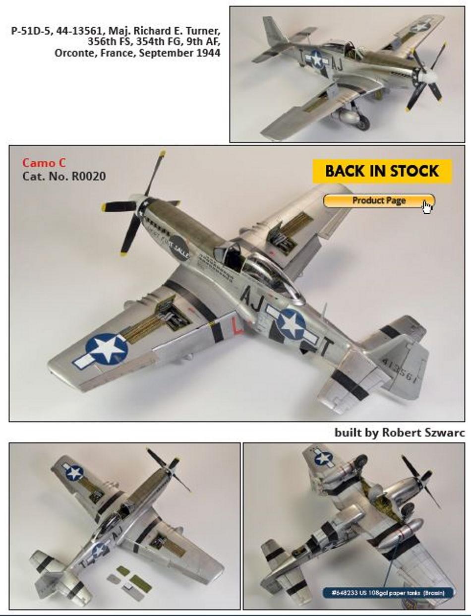 NORTH AMERICAN P-51 MUSTANG P51-2-17