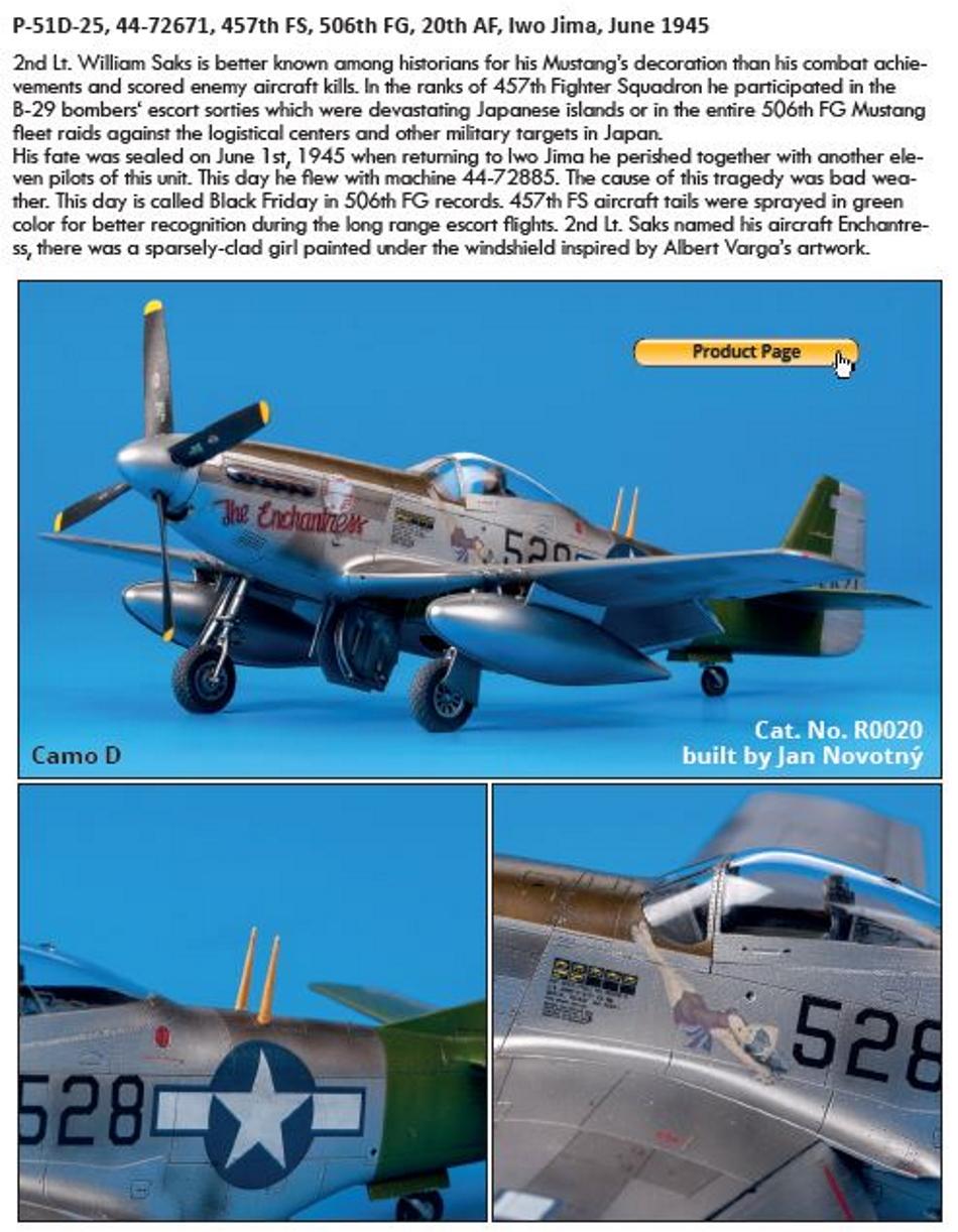 NORTH AMERICAN P-51 MUSTANG P51-2-27