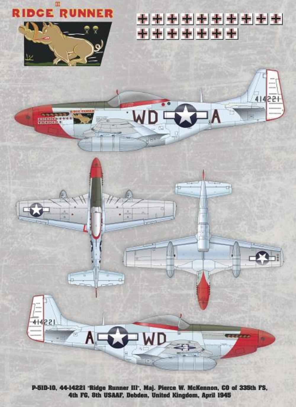 NORTH AMERICAN P-51 MUSTANG P51-5-10