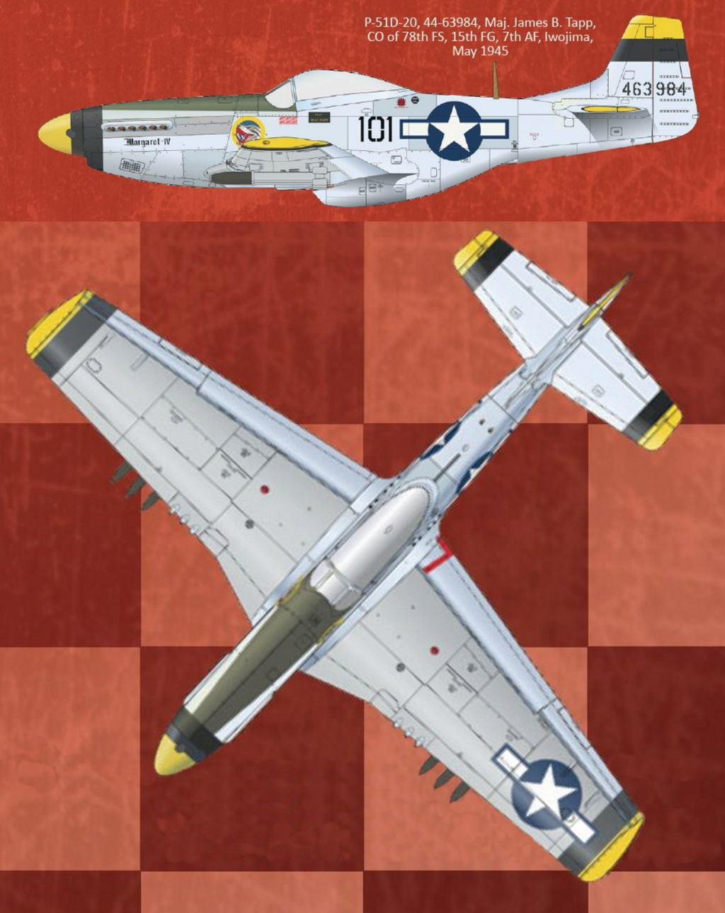 NORTH AMERICAN P-51 MUSTANG P51-5-15