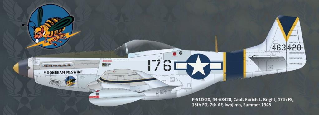 NORTH AMERICAN P-51 MUSTANG P51-6-16