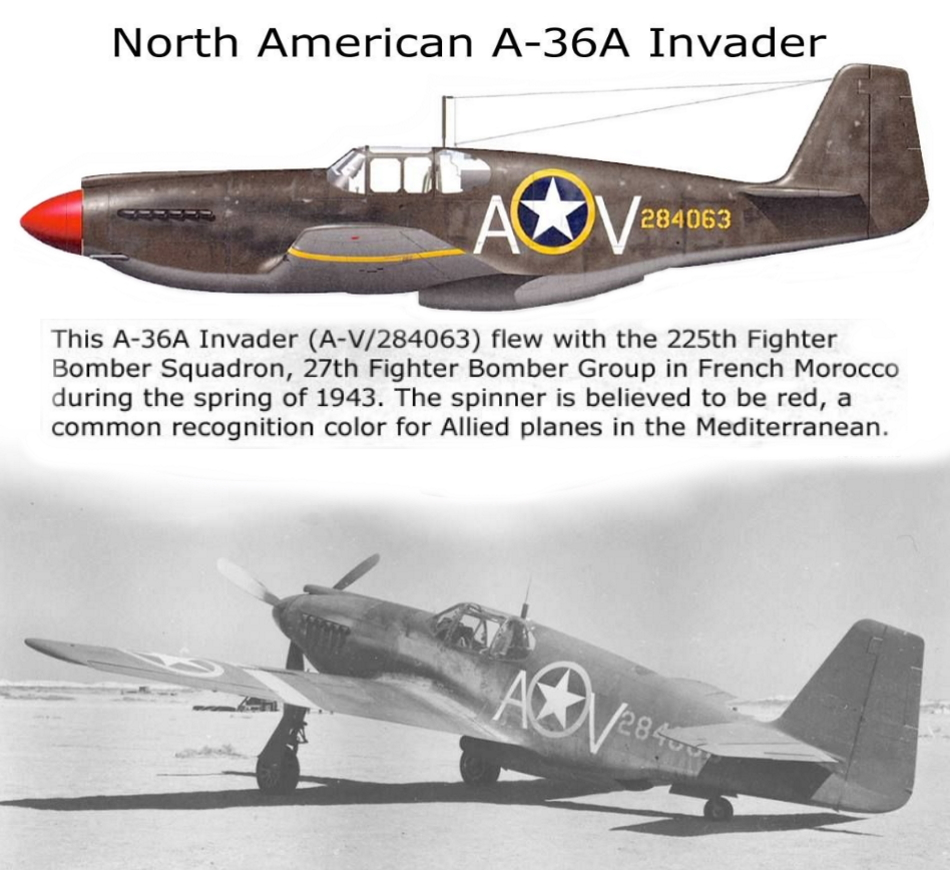 NORTH AMERICAN P-51 MUSTANG P51a-110