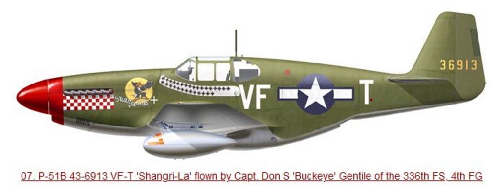 NORTH AMERICAN P-51 MUSTANG P51b-410