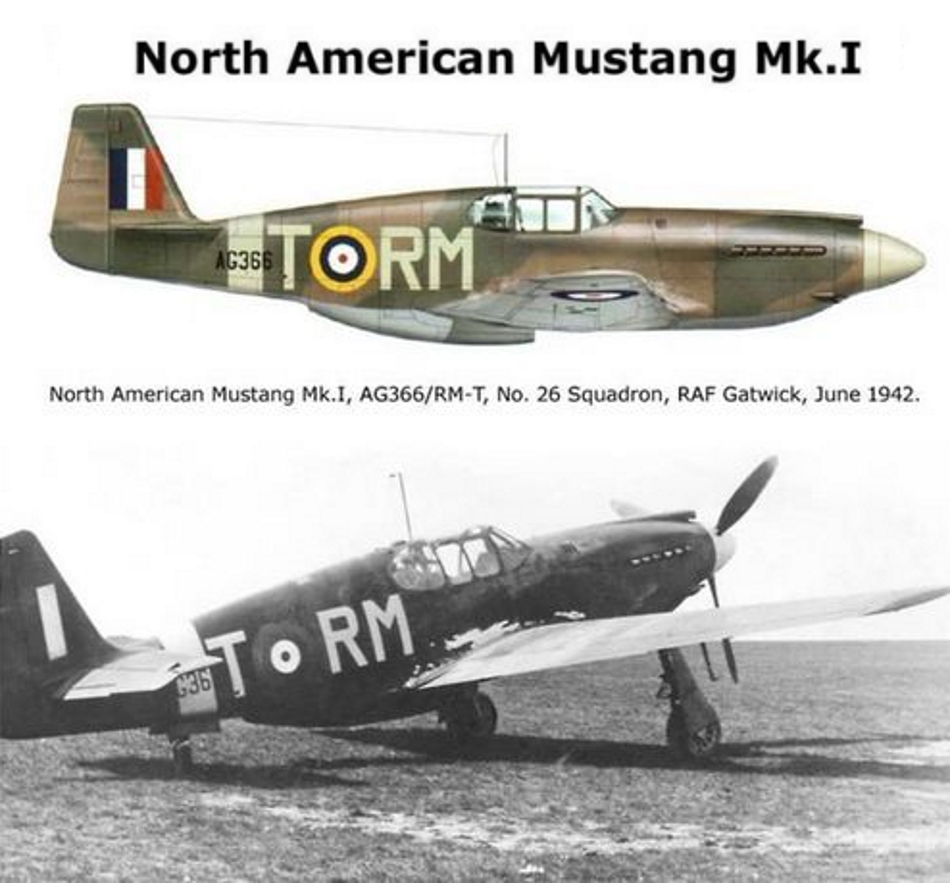 NORTH AMERICAN P-51 MUSTANG P51b_g11