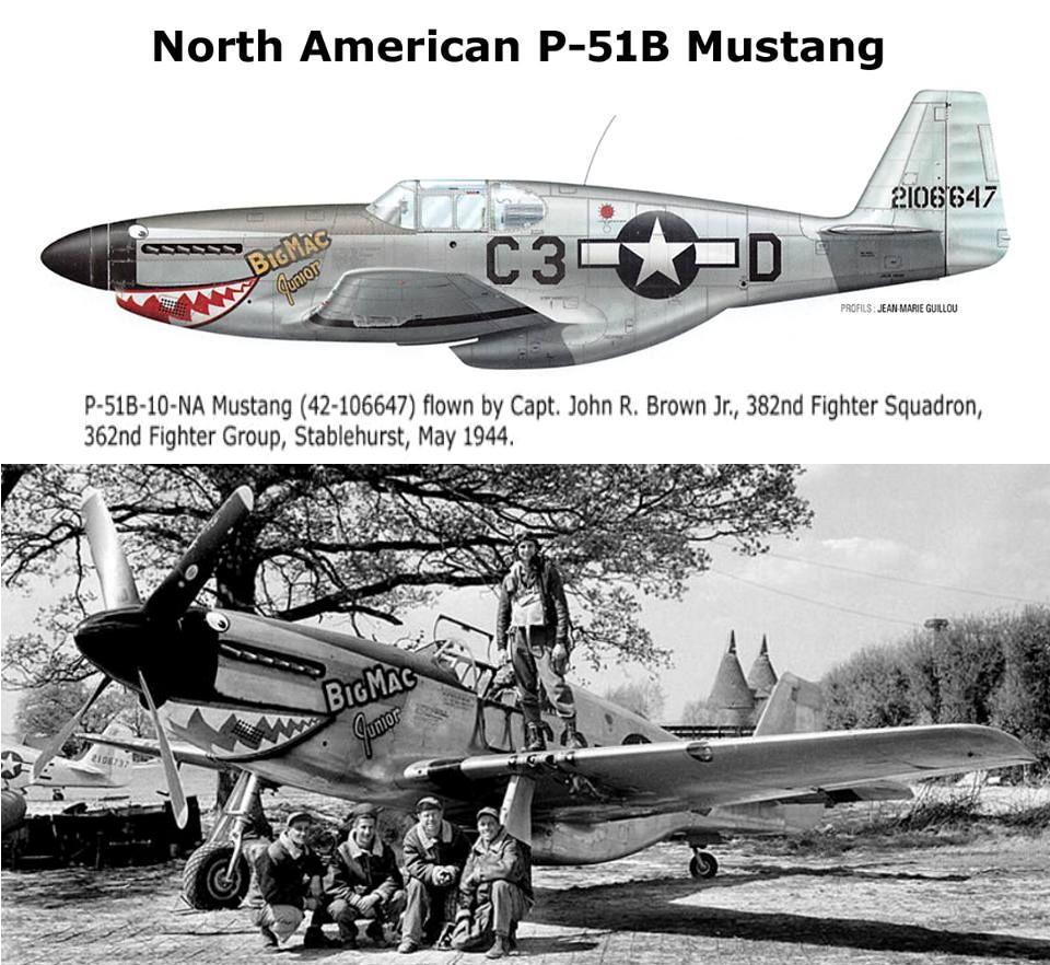 NORTH AMERICAN P-51 MUSTANG P51b_u13
