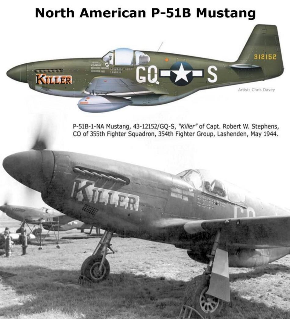 NORTH AMERICAN P-51 MUSTANG P51b_u17