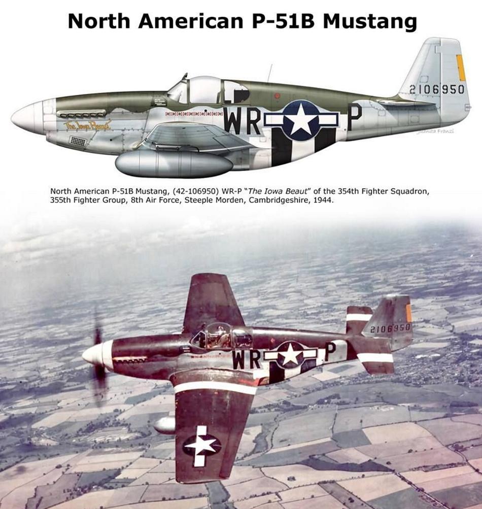 NORTH AMERICAN P-51 MUSTANG P51b_u21