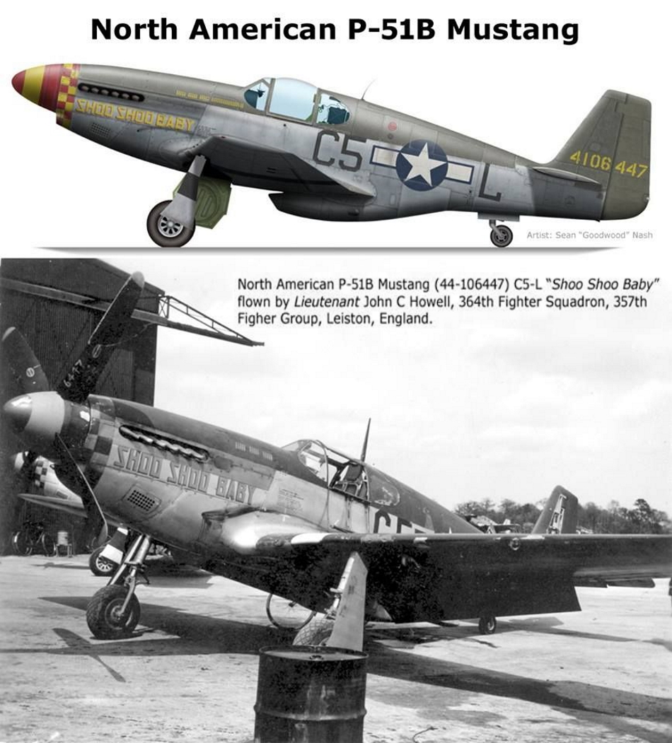 NORTH AMERICAN P-51 MUSTANG P51b_u25