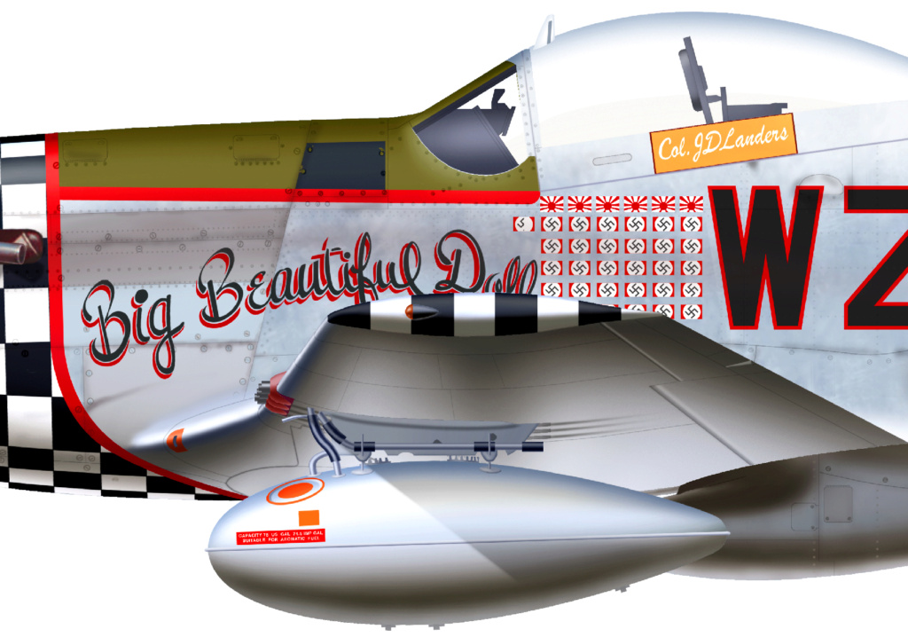 NORTH AMERICAN P-51 MUSTANG P51d-115