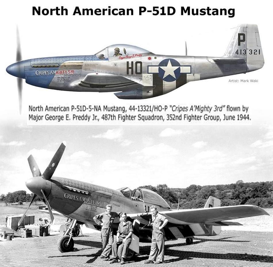 NORTH AMERICAN P-51 MUSTANG P51d-116
