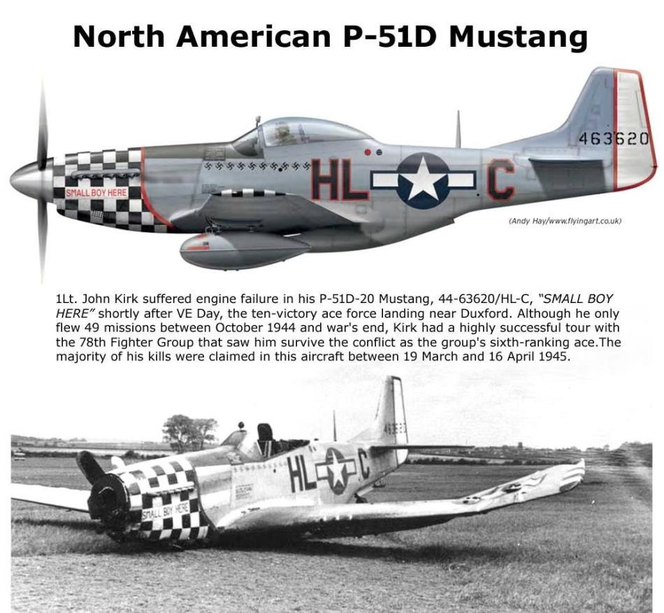 NORTH AMERICAN P-51 MUSTANG P51d-120