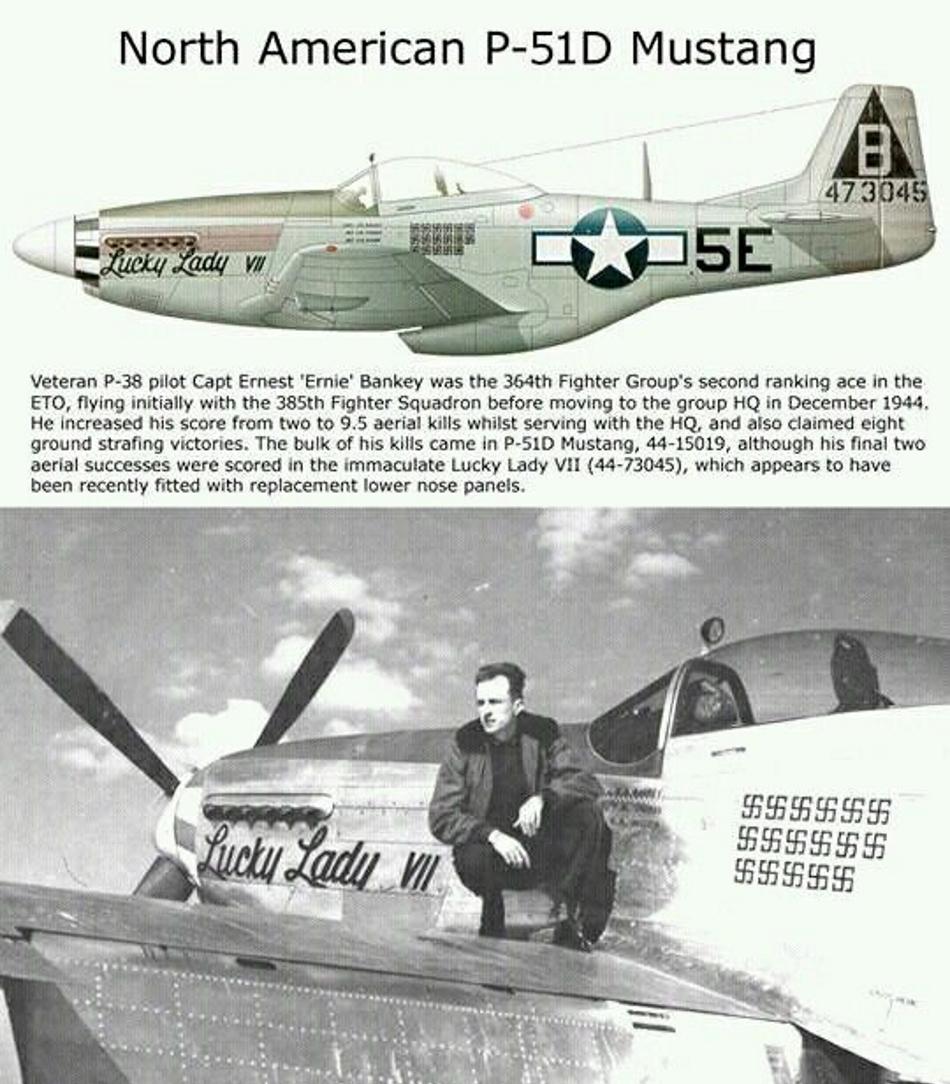 NORTH AMERICAN P-51 MUSTANG P51d-122
