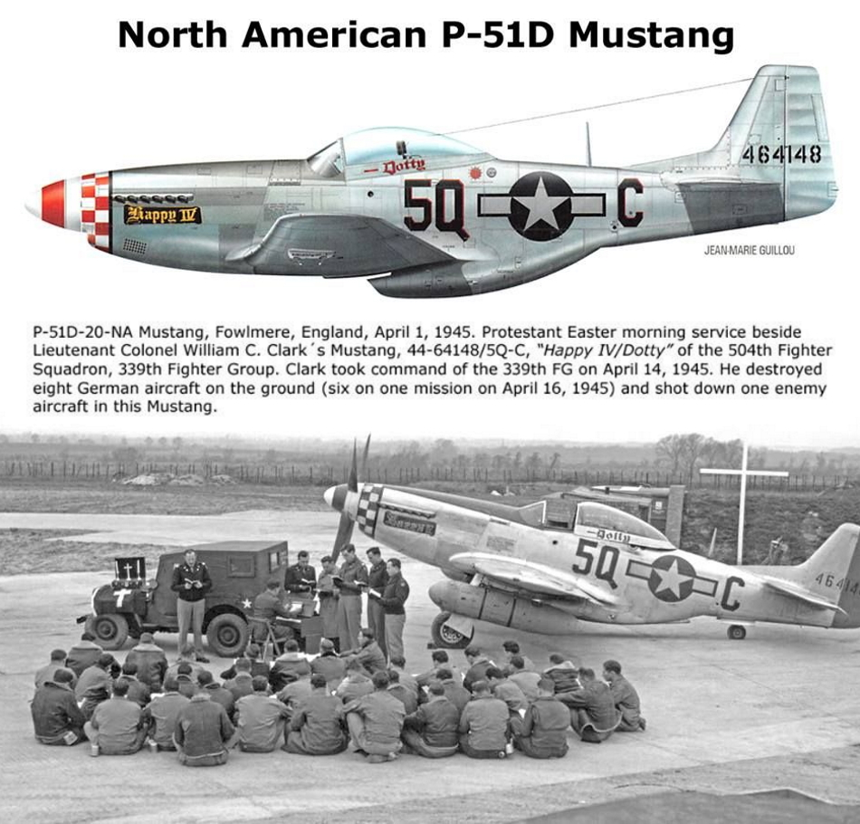 NORTH AMERICAN P-51 MUSTANG P51d-125