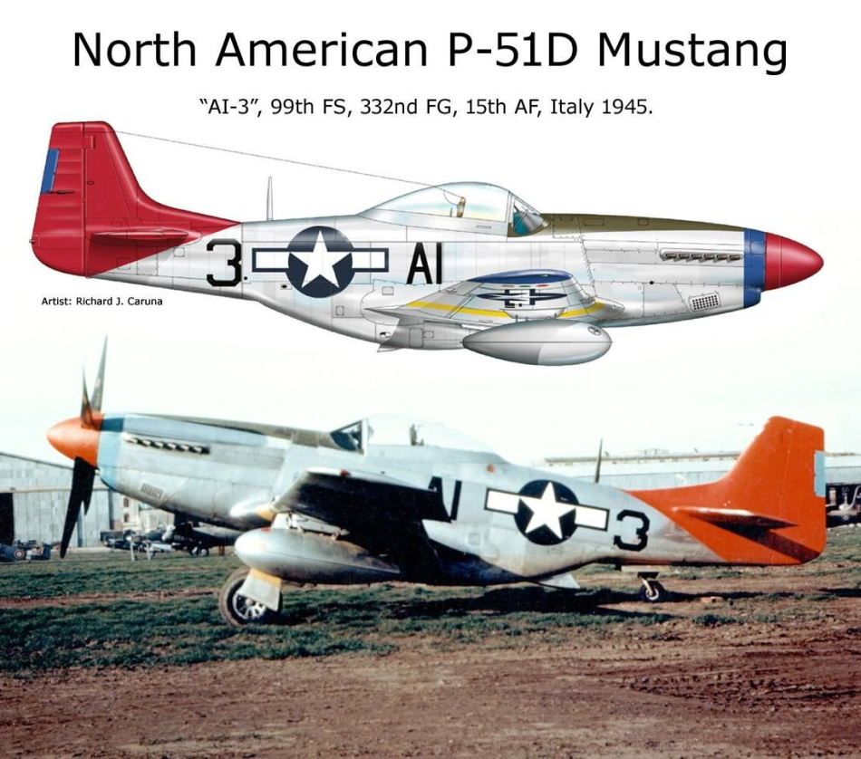 NORTH AMERICAN P-51 MUSTANG P51d-126