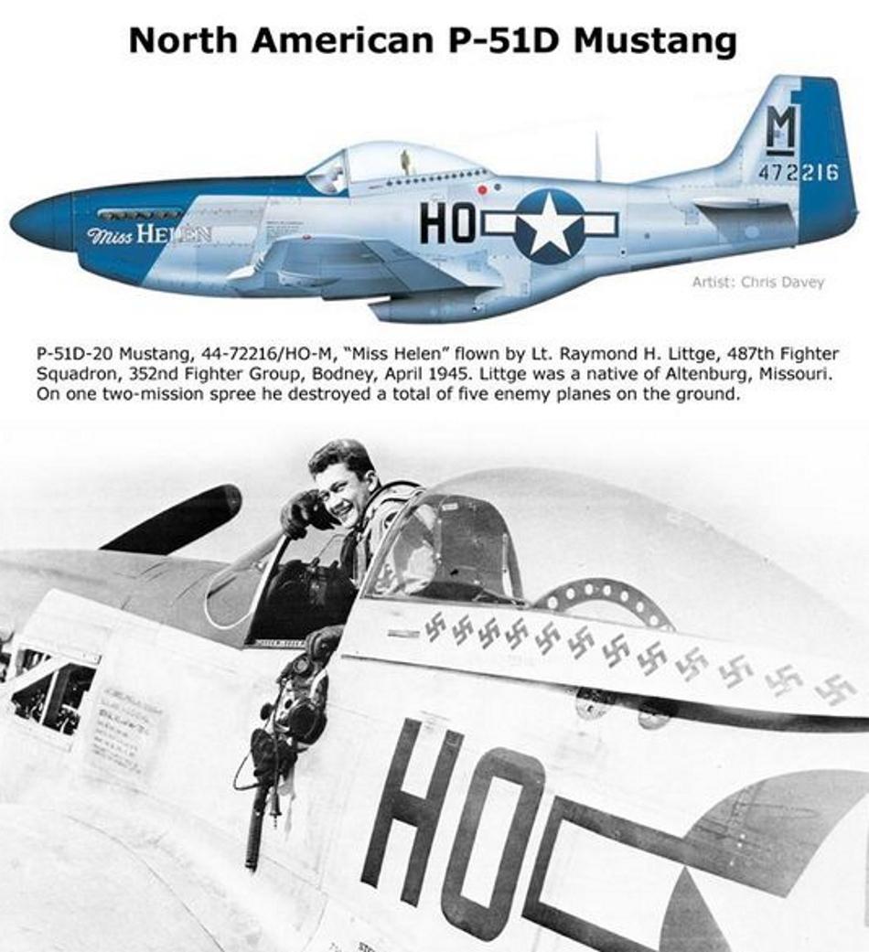 NORTH AMERICAN P-51 MUSTANG P51d-213