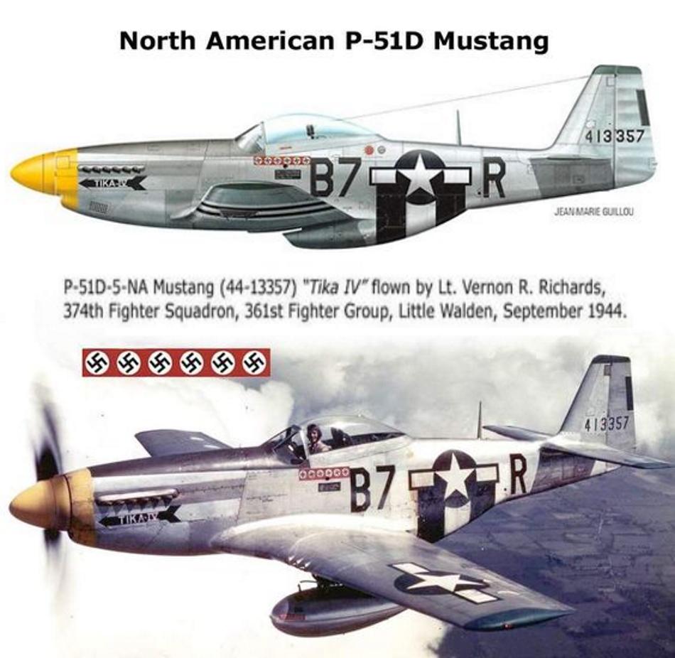 NORTH AMERICAN P-51 MUSTANG P51d-214