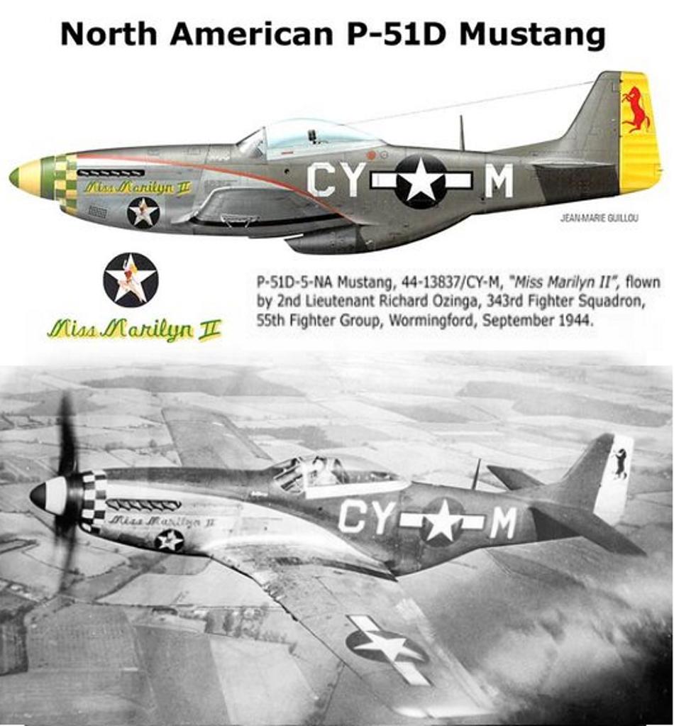 NORTH AMERICAN P-51 MUSTANG P51d-216