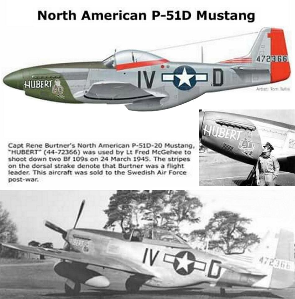 NORTH AMERICAN P-51 MUSTANG P51d-217