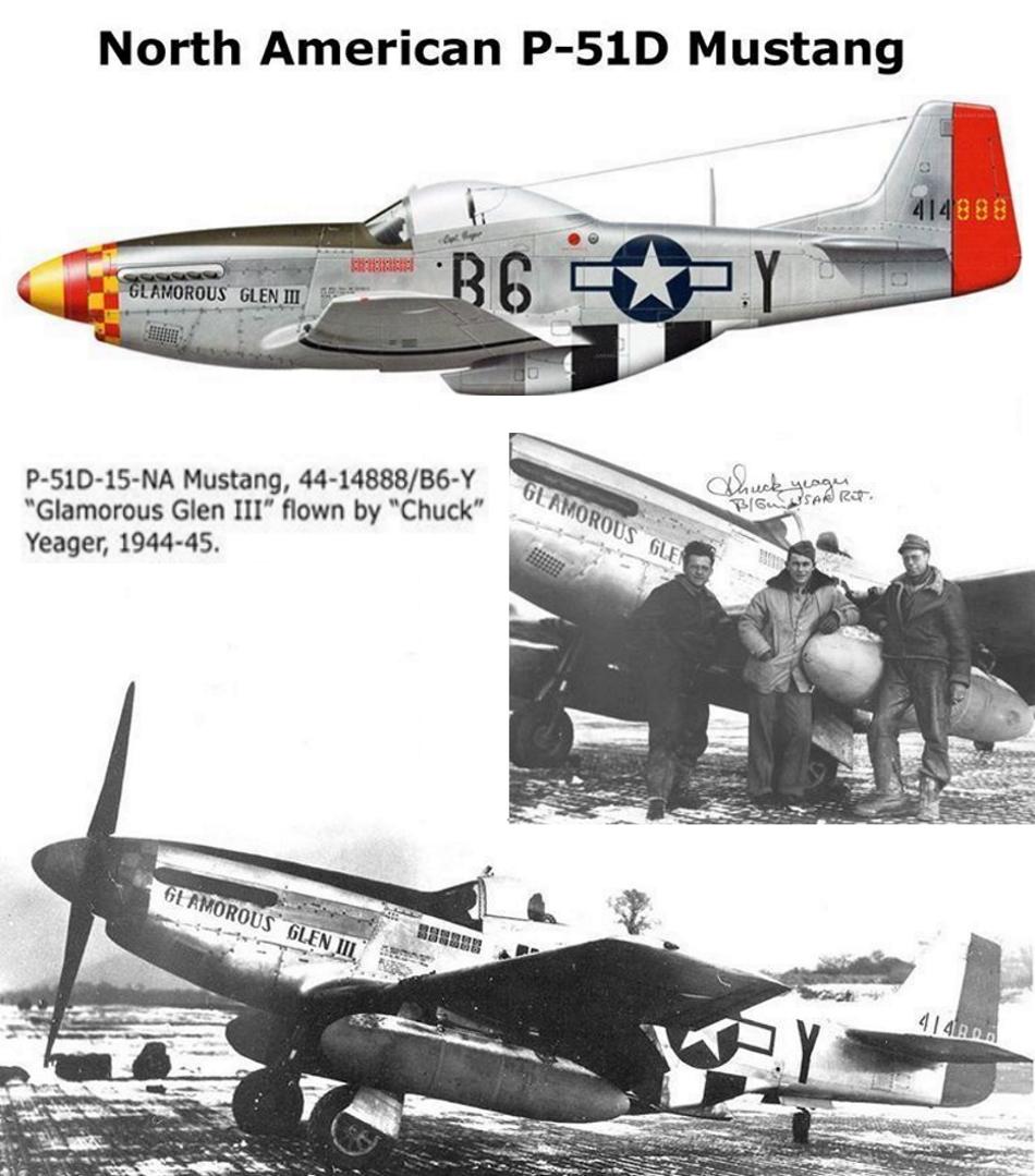 NORTH AMERICAN P-51 MUSTANG P51d-221