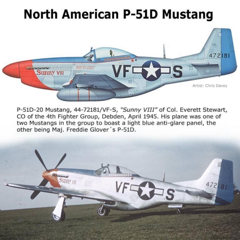 NORTH AMERICAN P-51 MUSTANG P51d-223