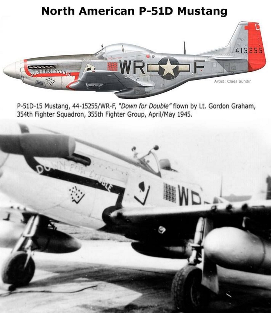 NORTH AMERICAN P-51 MUSTANG P51d-312