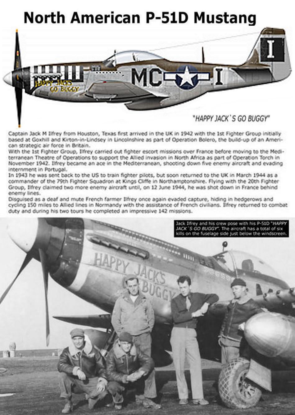 NORTH AMERICAN P-51 MUSTANG P51d-315