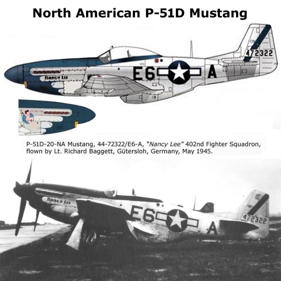 NORTH AMERICAN P-51 MUSTANG P51d-319