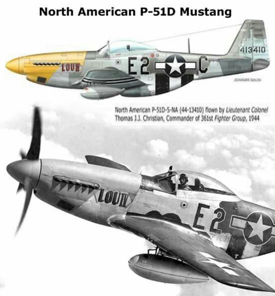 NORTH AMERICAN P-51 MUSTANG P51d-410