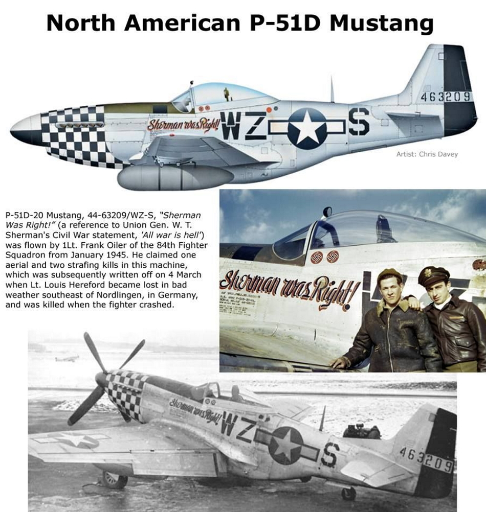 NORTH AMERICAN P-51 MUSTANG P51d-510