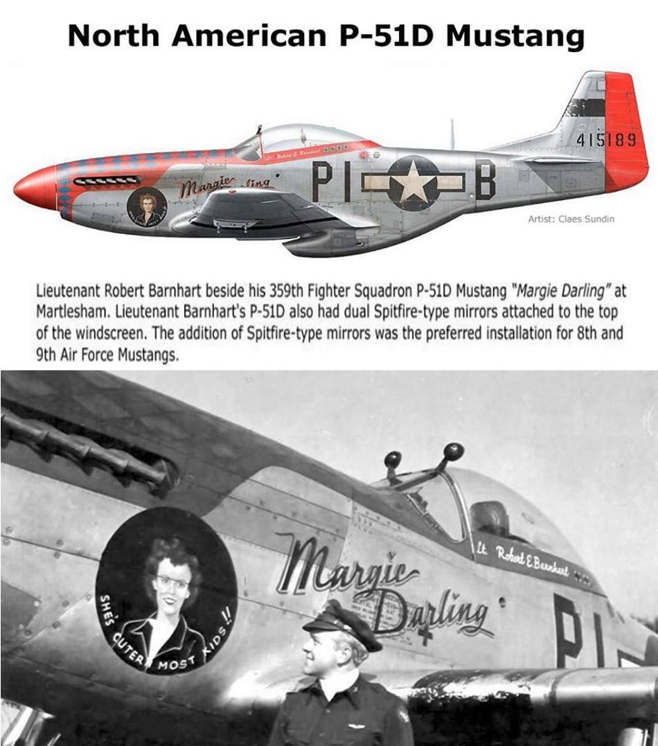 NORTH AMERICAN P-51 MUSTANG P51d-610