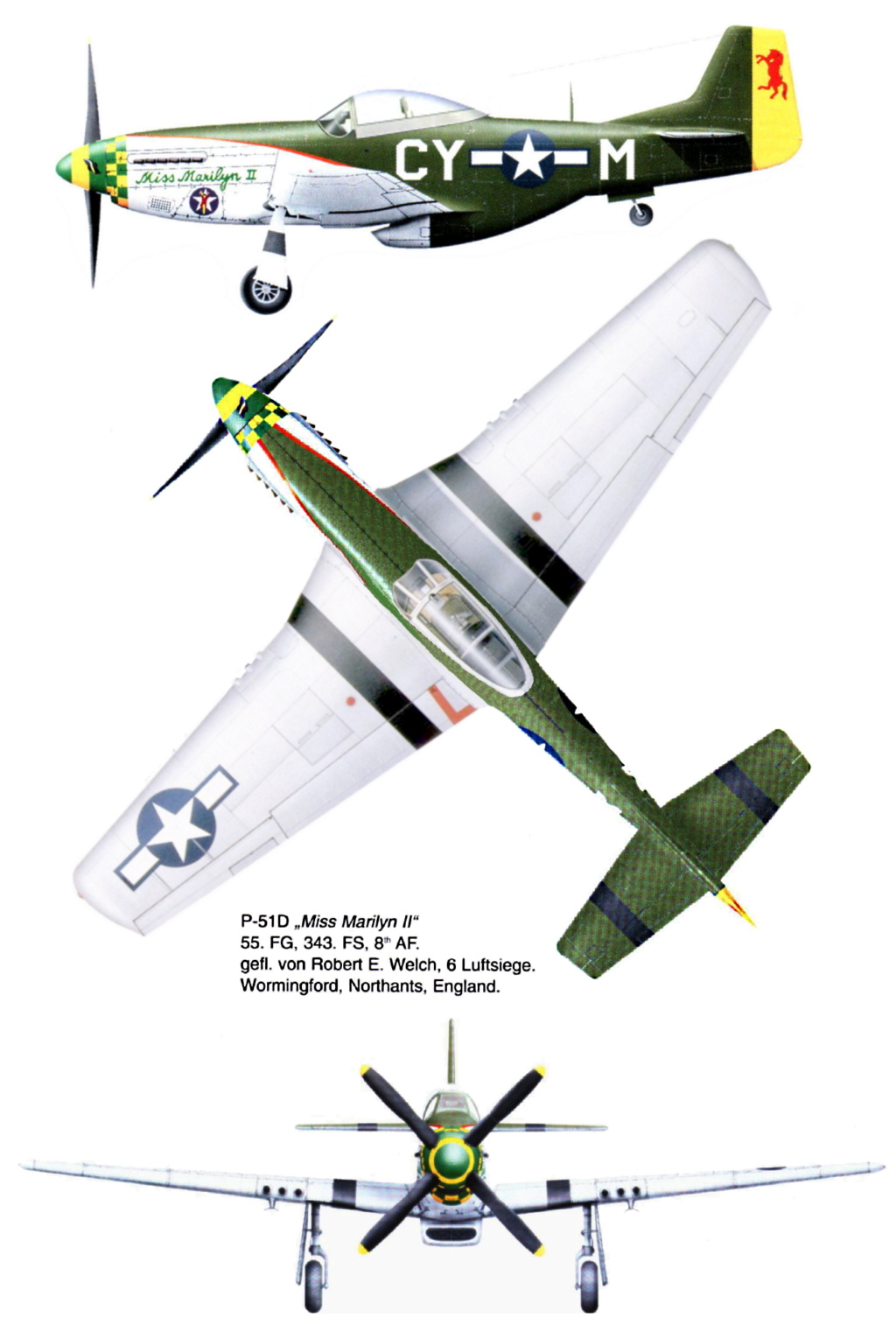 NORTH AMERICAN P-51 MUSTANG P51d-611