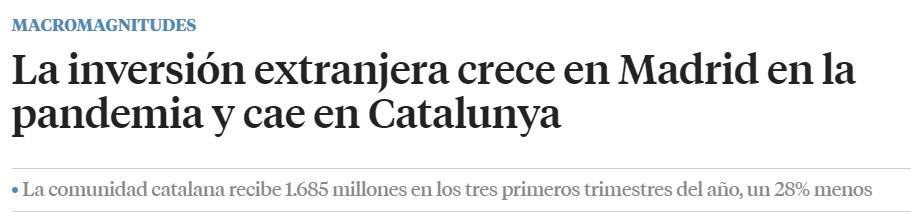 Madrid supera a Cataluña en economía y prosperidad 0424