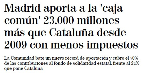 Catalunya discriminada por Madrid 2410