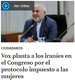 El Congreso suspende el saludo a una delegación de Irán tras denunciar Vox que las mujeres que no podían dar la mano a los hombres La_raz10