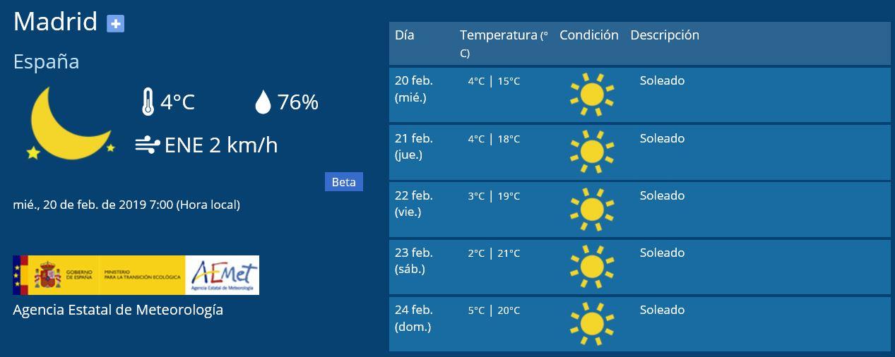 El clima de hoy donde tú vives - Página 15 Madrid11