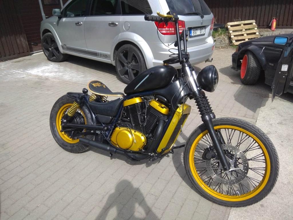 vs800 bobber build Kuld210