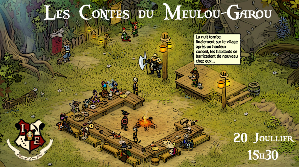 [20/07/649] Soirées Jeux- Les Contes du Meulou-Garou Public21